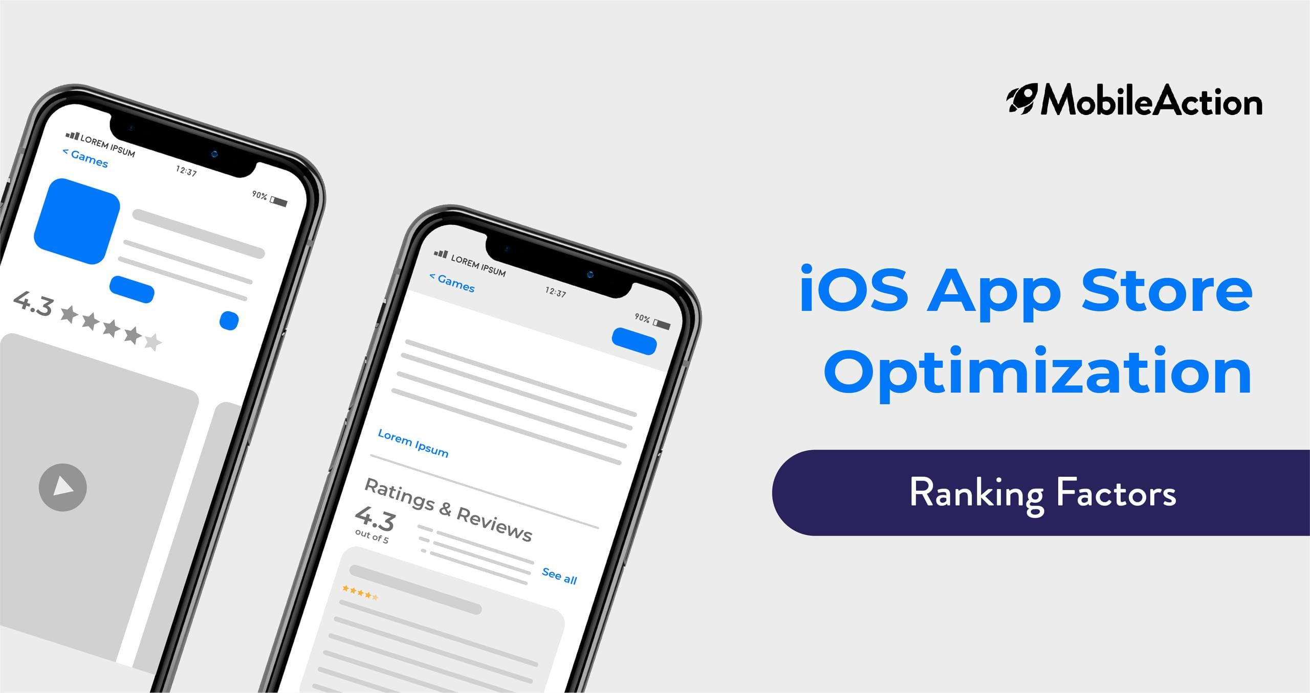 IOS App Store Optimization Ranking Factors