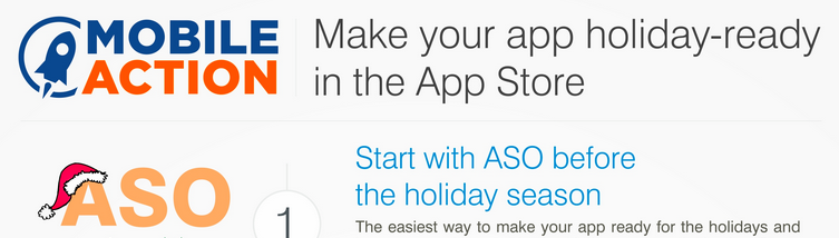 Holiday app tips