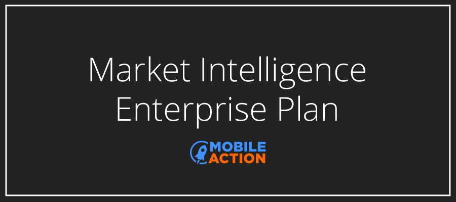 Market Intelligence plan