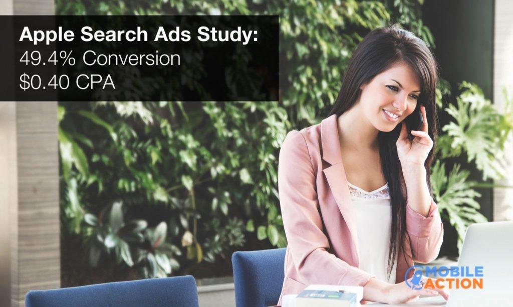 Apple Search Ads study
