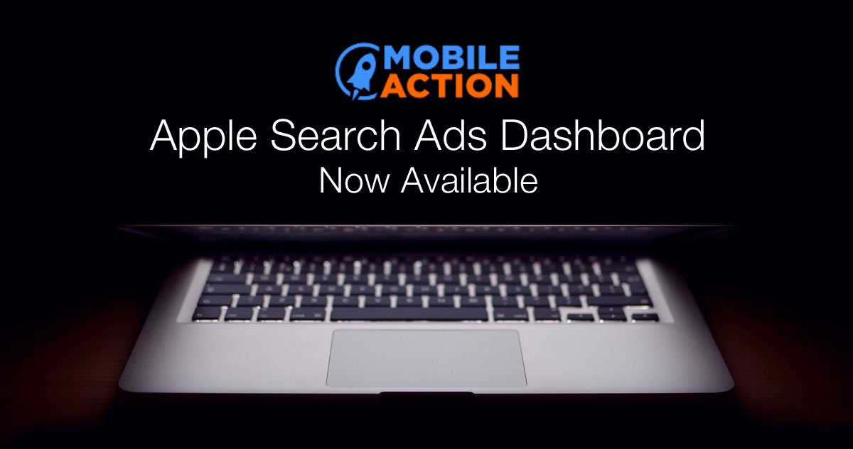 Mobile Action Search Ads Dashboard