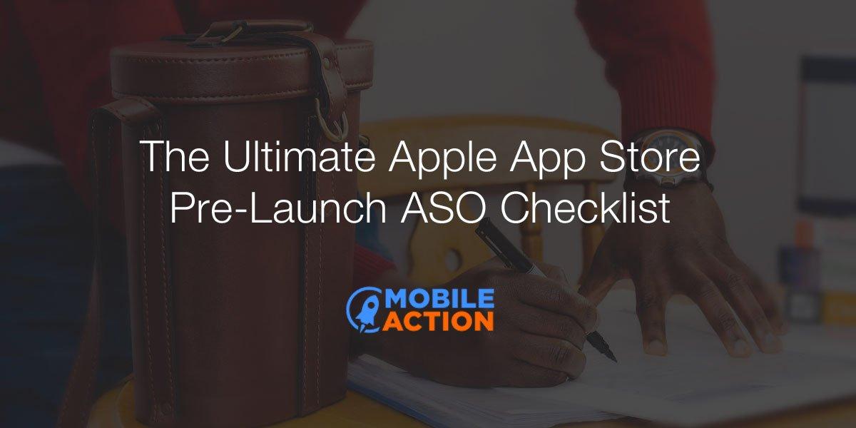 App Store pre-launch ASO checklist