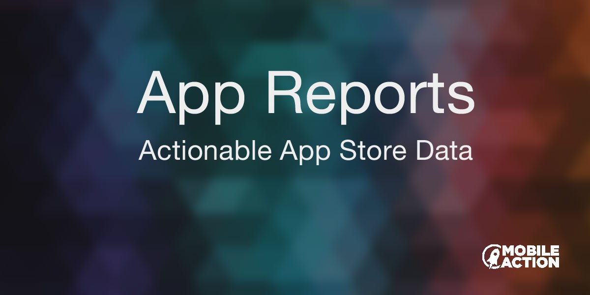 Updated mobile app report