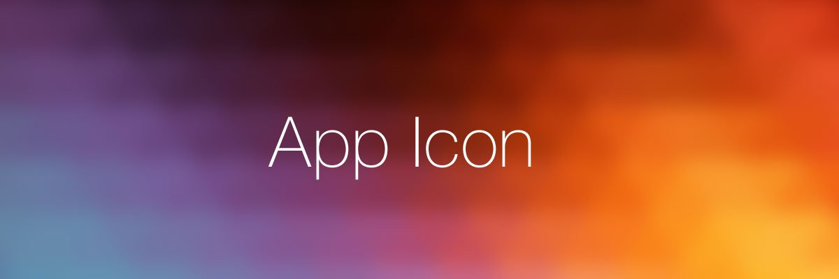 App icon optimization