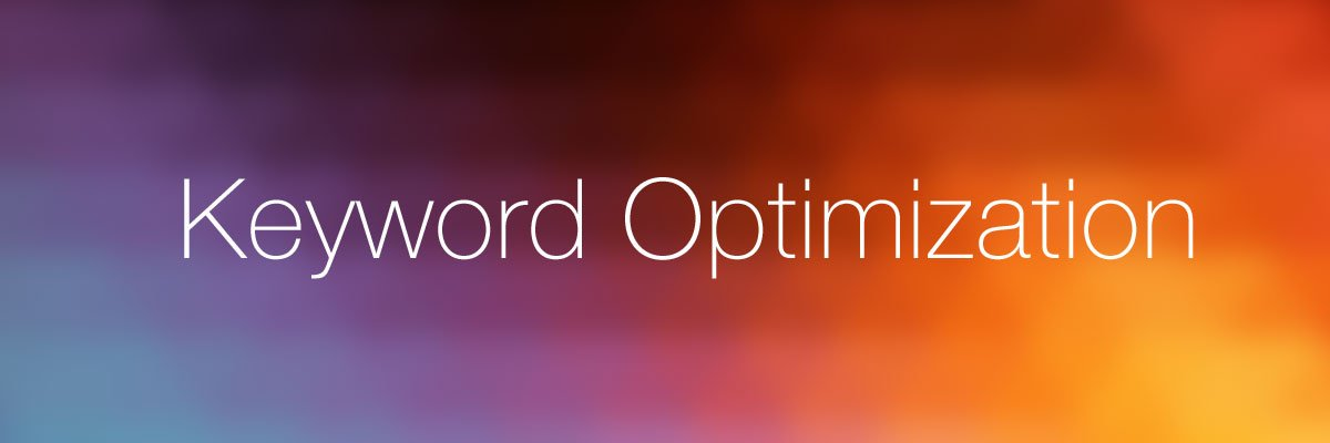 Keyword Optimization Tips