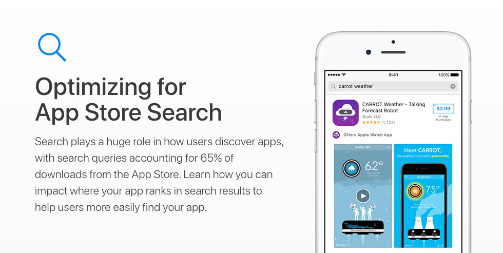 App Store search stats