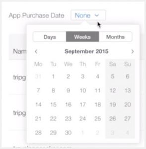 How to change app purchase date