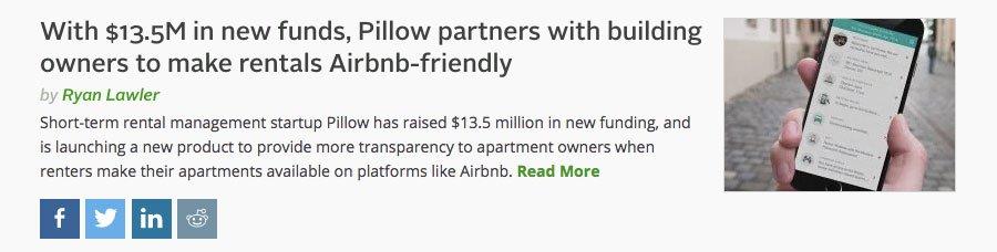 VC funding story