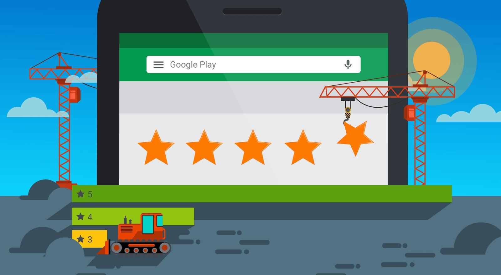 Increase Google Play Ratings