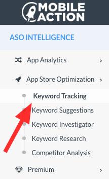 Keyword tracking module