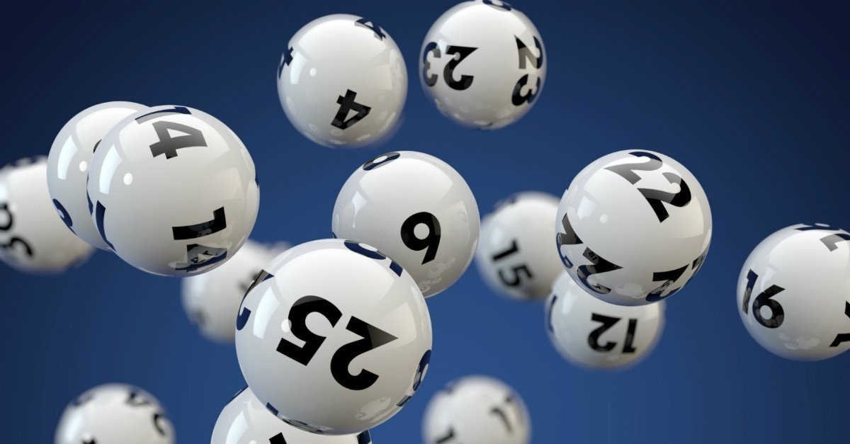 Lottery balls signifying the luck factor of getting featured in the app store