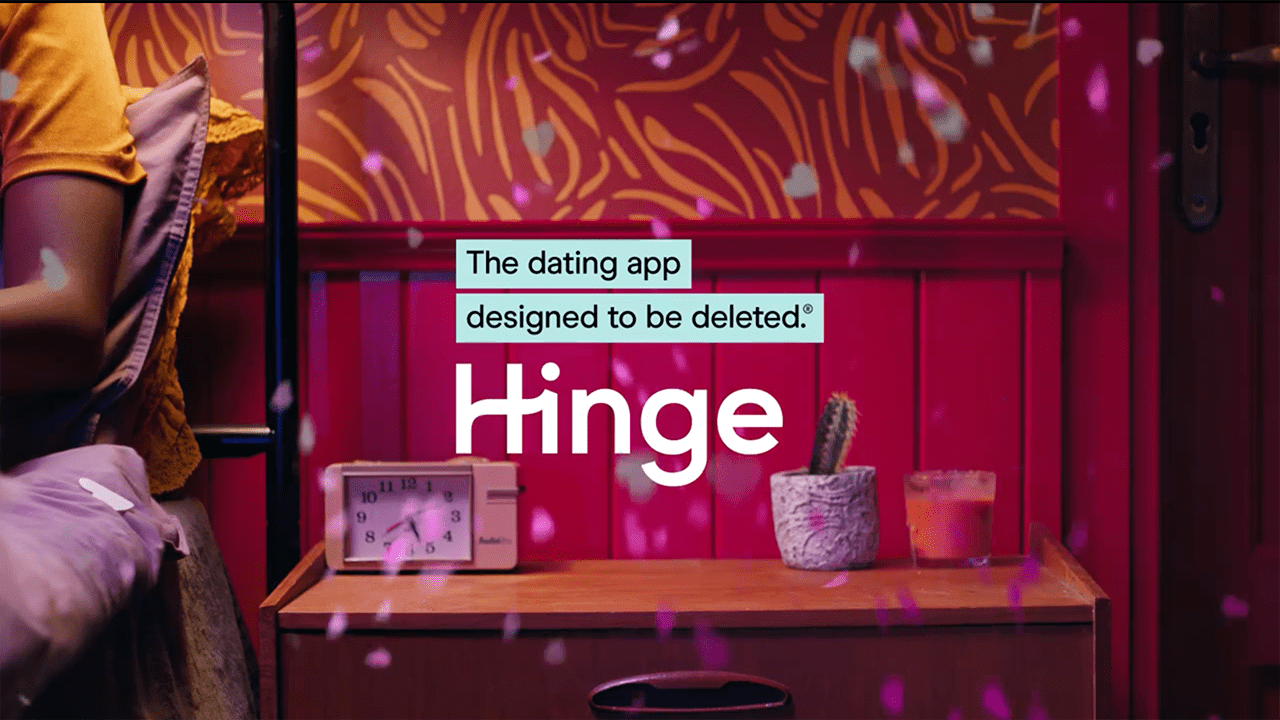 Hinge dating app Valentines campaign