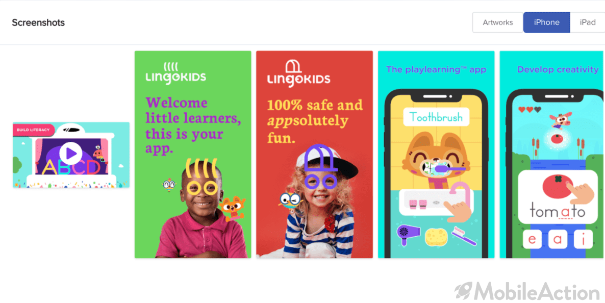 Creative Testing on the App Store: Best Practices from Lingokids